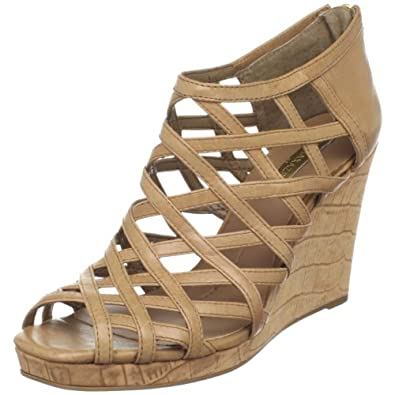 BCBGMAXAZRIA Women's Noreen Wedge Sandal