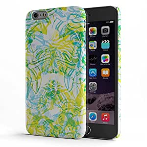 Koveru Designer Printed Protective Snap-On Durable Plastic Back Shell Case Cover for Apple iPhone 6 Plus/ iPhone 6S Plus - Tropical Flowers