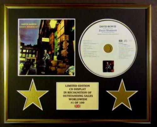 DAVID BOWIE/CD Display/Limitata Edizione/Certificato di autenticità/ZIGGY STARDUST