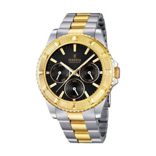 FESTINA F16691/5 - Reloj de pulsera unisex, acero inoxidable, color bicolor