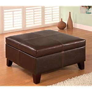 Click to buy Square Storage Ottoman from Amazon!