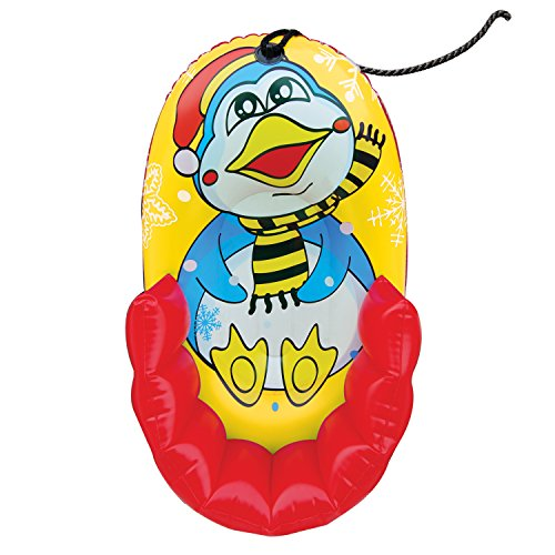 "33"" Kiddie Snow PENGUIN Character Pull Sled - 1"