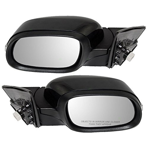 Driver and Passenger Power Side View Mirrors Heated Signal Replacement for Kia 87610B2550 87620B2550 (Kia Soul Driver Side Mirror compare prices)