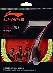Li-Ning No 7 Badminton Racquet String (White)