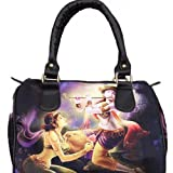 Watercolour Krishna Handbag