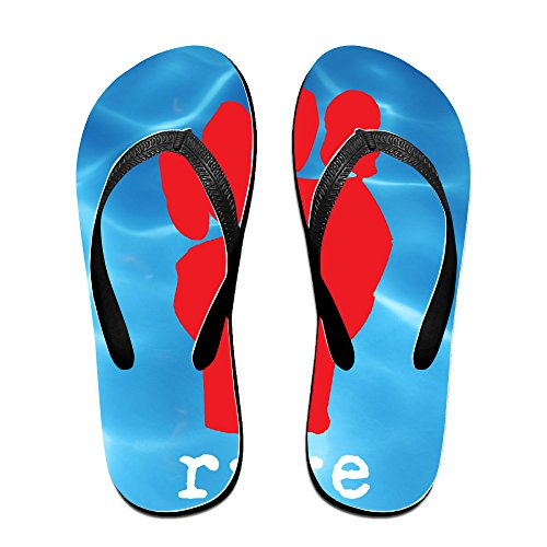 LFISH3 Rage Against The Machine Comfy Flip Flops