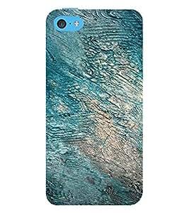 PrintVisa Rock Pattern 3D Hard Polycarbonate Designer Back Case Cover for Apple iPhone 5C