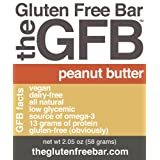 The GFB - Gluten Free Bar, Peanut Butter - 12 Pack