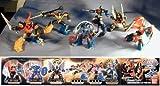 スーパー戦隊 ロボ 全6種 ガオイカロス サンバルカン 剛龍神 全6種 未開封 ミニブック付 1 サンバルカンロ
