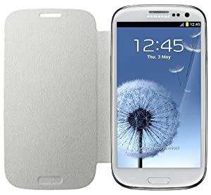 Samsung Flip Case for Samsung Galaxy S3 - Ceramic White