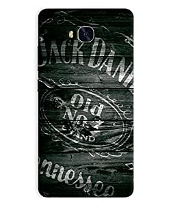 GripIt Jack Daniels Logo on Wood Case for Huawei Honor 5x