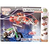 Erector Multimodels Motorized Building Set - 35 Models, 460 Parts