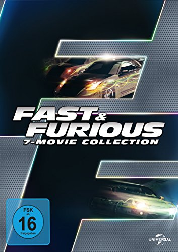 The Fast and Furious - 7-Movie Collection [7 DVDs]