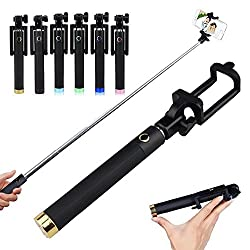 Techwich built-in Bluetooth Monopod Selfie Stick Foldable all-in-one IOS Android - Locust Series
