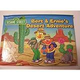 Sesame Street Educational Pop-up Book ~ Bert & Ernie's Desert Adventure (2012)