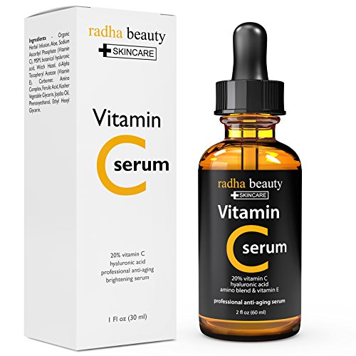 Vitamin c and e serum for face