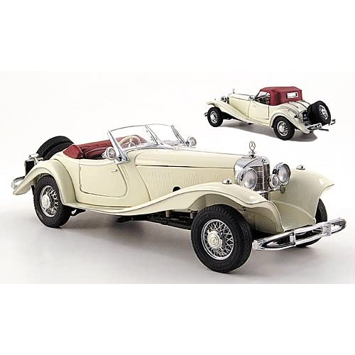 Creme-white , 1935, model car, ready-made, franklin mint 1:24