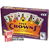 Five Crowns Card Game with Free Deck of Cards
