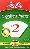 Melitta USA INC 622712 Cone Coffee Filters 100 Count - No. 2
