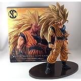 """Three Super Saiyan 3 Super Saiyan 3 Goku Dragon Ball SCultures modeling Tenkaichi Budokai '´""""V"""