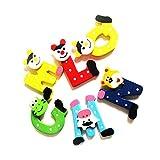 Atdoshop(TM) Butterfly Puzzle Educational Developmental Children Baby Wooden Toy Gift (Alphabet)