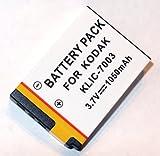 Maxsima - KLIC-7003 compatible battery for KODAK Easyshare M380, V1003, V803, M381, Z950, KLIC7003, High output 1050mAh.