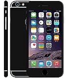 #10: GADGETS WRAP --CO-- Apple iPhone 6 / 6S Black Matte Split Skin for Front & Back.