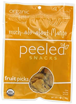 Peeled Snacks Much-ado-about-Mango, 1.40 oz. bags (Pack of 10)