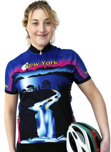 Buy Low Price Women's New York Short Sleeve Jersey (B008WIF9JY)
