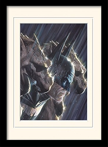 Batman - Gotham's Protector, Dc Comics Poster Da Collezione Incorniciato (40 x 30cm)