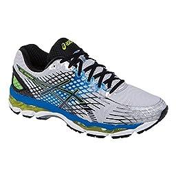 ASICS Men\'s Gel-Nimbus 17 Running Shoe,Lightning/Black/Flash Yellow,10.5 M US