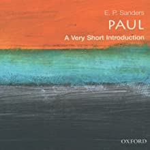 Paul: A Very Short Introduction (       UNABRIDGED) by E. P. Sanders Narrated by Robert Feifar