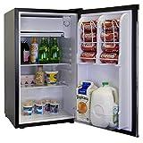 Haier HNSE032BB 3.2 Cubic Feet Refrigerator/Freezer, Black