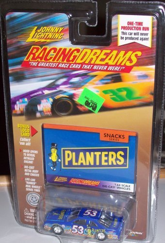 JOHNNY LIGHTNING RACING DREAMS SNACK SERIES PLANTERS 1:64 SCALE DIE-CAST VEHICLE by Johnny Lightning