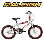 "Raleigh Fury 16"" Childrens Bike - Sil..."