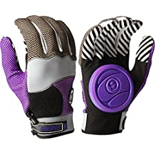 Sector 9 Apex Slide Gloves L/XL-Purple(Grey/Black/Purple)