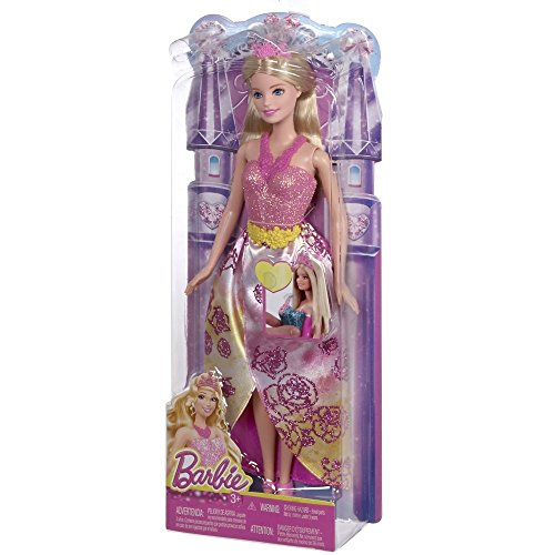 Barbie Fairytale Princess Barbie Doll - 1
