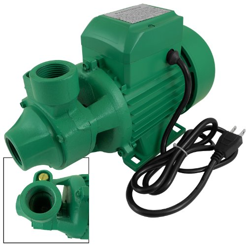 "1Hp Electric Water Pump Centrifugal 1"" In/Out Pond Garden Biodiesel Aluminum New Free Teflon Tape /Overheat Protection / 754W Motor"