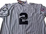 Derek Jeter New York Yankees (Captain) Autographed Hand Signed Official Authentic Jersey
