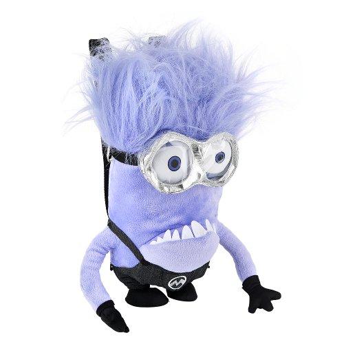 purple minion plush