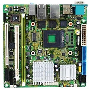 MSI Motherboard Intel 945GME Mini ITX DDR2 800 Socket P Motherboards FUZZY 945GME2 9642-060