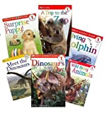 img - for Dk Readers Book Set (5) : Diving Dolphins, Fishy Tales, Colorful Days, Big Machines, Born to Be a Butterfly (Nonfiction Book Sets for Kids : Level 1 : Kindergarten - Grade 1) book / textbook / text book