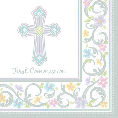 Blessed Day Communion Beverage Napkin 36ct