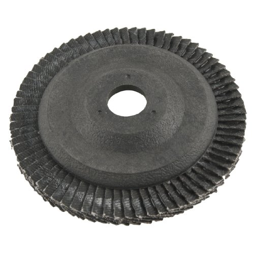 Amico 16mm Inner Dia 80# Grit Abrasive Flap Sanding Disc Buffing Wheel