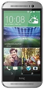 HTC One 2014 (M8) Smartphone 4G débloqué 5 pouces 16 Go Android 4.4 KitKat Argent