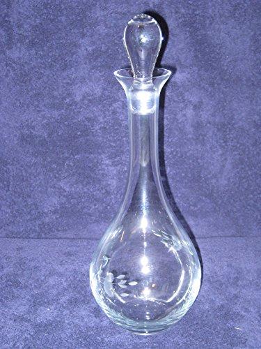 Princess House Heritage Crystal Glass Wine Liquor Decanter