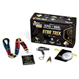 Star Trek 50th Anniversary Epic Collectors Box - Lanyard, Collector Coin, Phaser Key Chain, Enamel 50th Anniversary Pin and Mystery Item