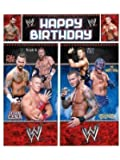 WWE Wrestling Giant Scene Setter Wall Decorating Kit (5pc)