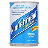 Dunns River Nurishment Original Big Can Vanilla Flavour 12 x 400gram