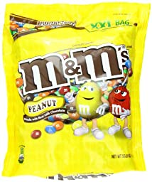 M&M PEANUT CANDY 56 oz